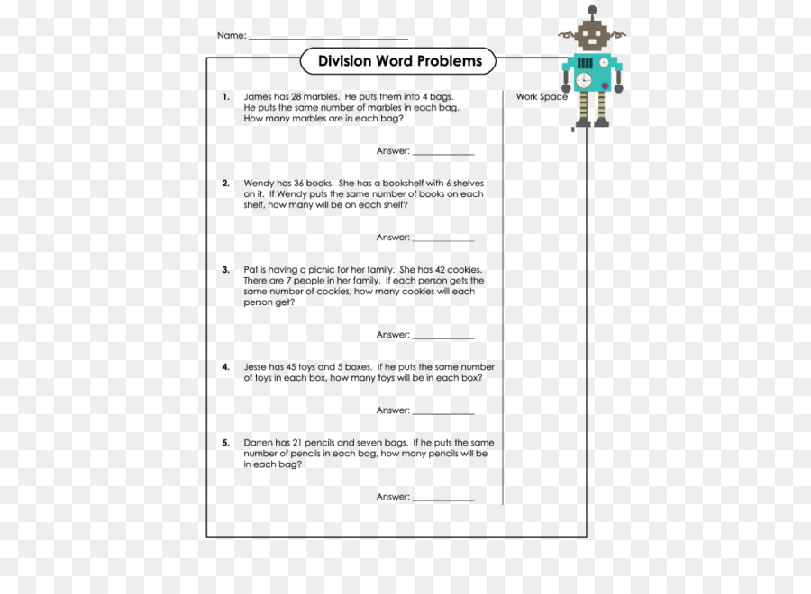 Word problem Long division Mathematics Basic Math - difficulties png ...