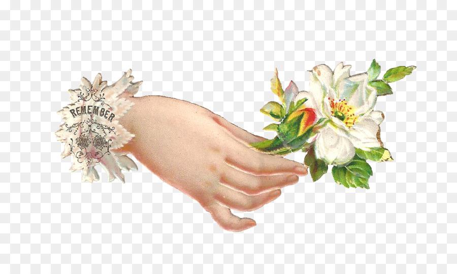 Memotong Bunga Dan Desain Floral Seni Klip Memegang Bunga Unduh
