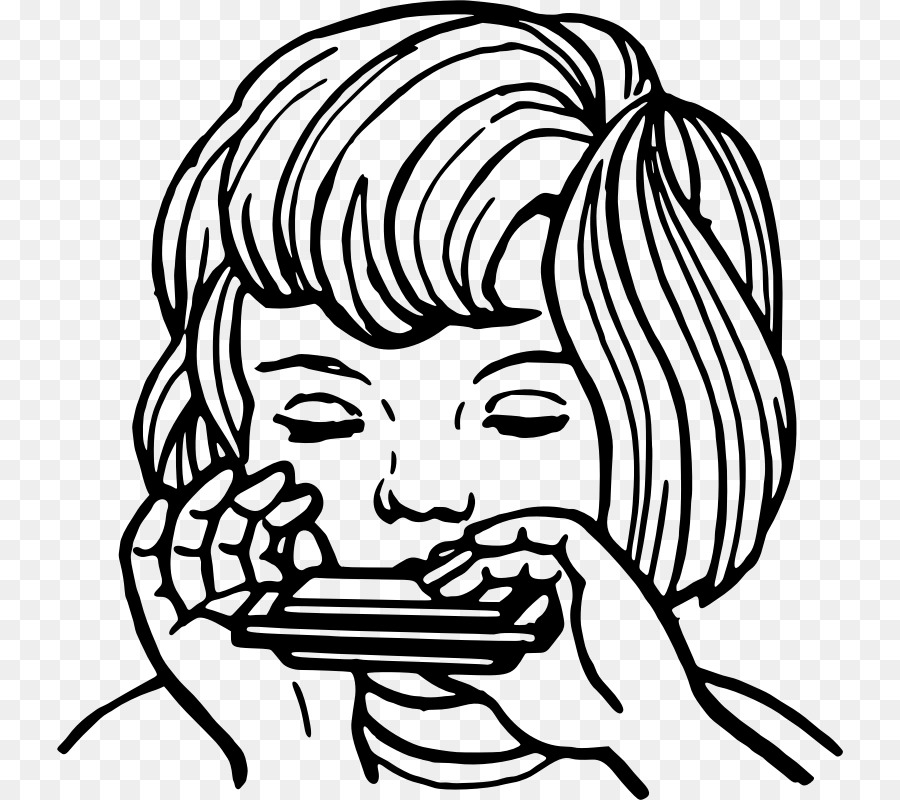 Harmonica Drawing Stick Figure Clip Art