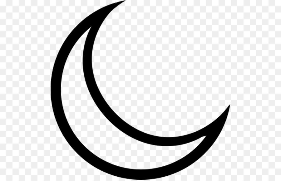 Crescent Lunar Phase Moon Clip Art Crescent Png Download 576576