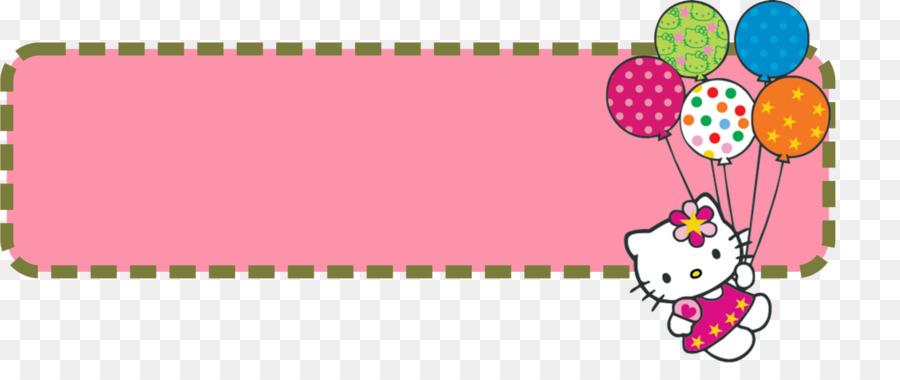 Hello Kitty Anpanman Clip Art Banner Templates 1600 645