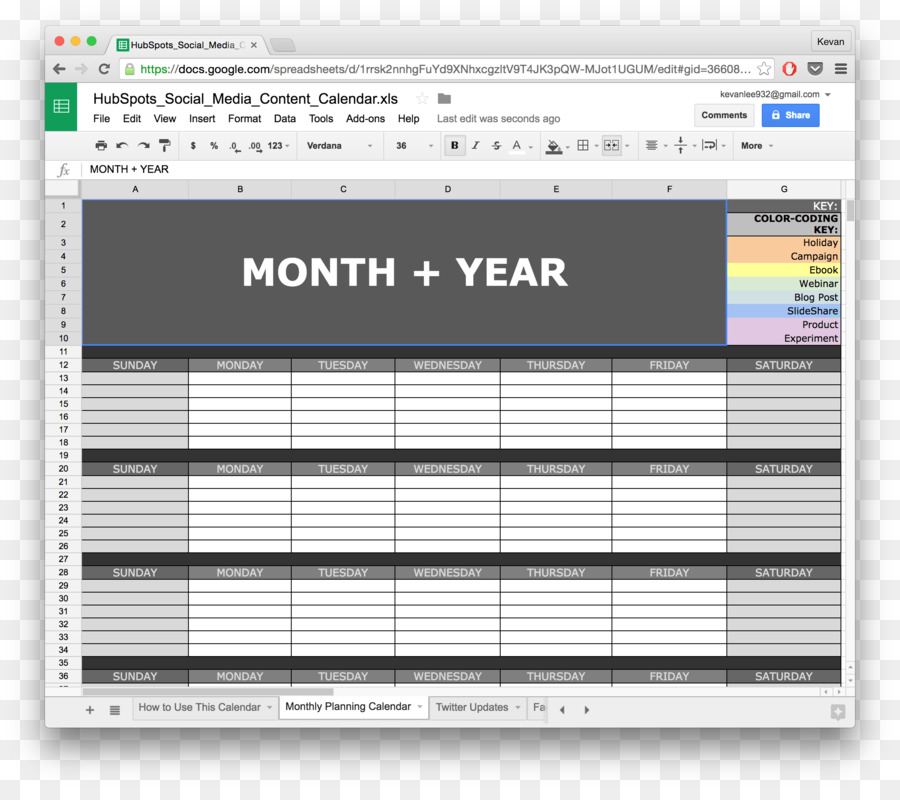 Google Docs Template Google Calendar Spreadsheet Business Calendar - Google sheets business templates