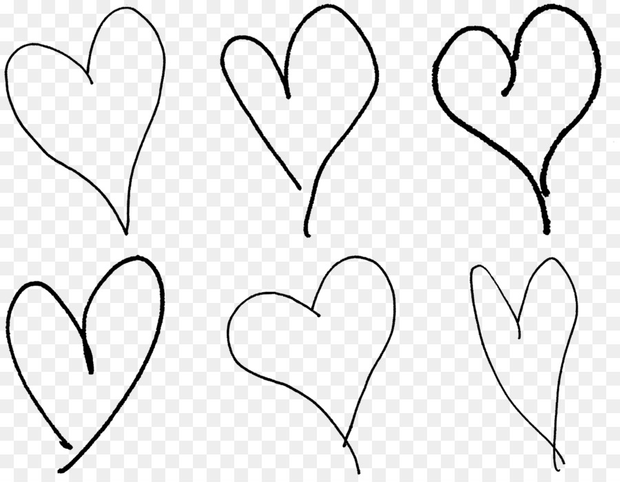 Drawing Heart Valentine S Day Clip Art Hand Drawn Heart Shaped Png