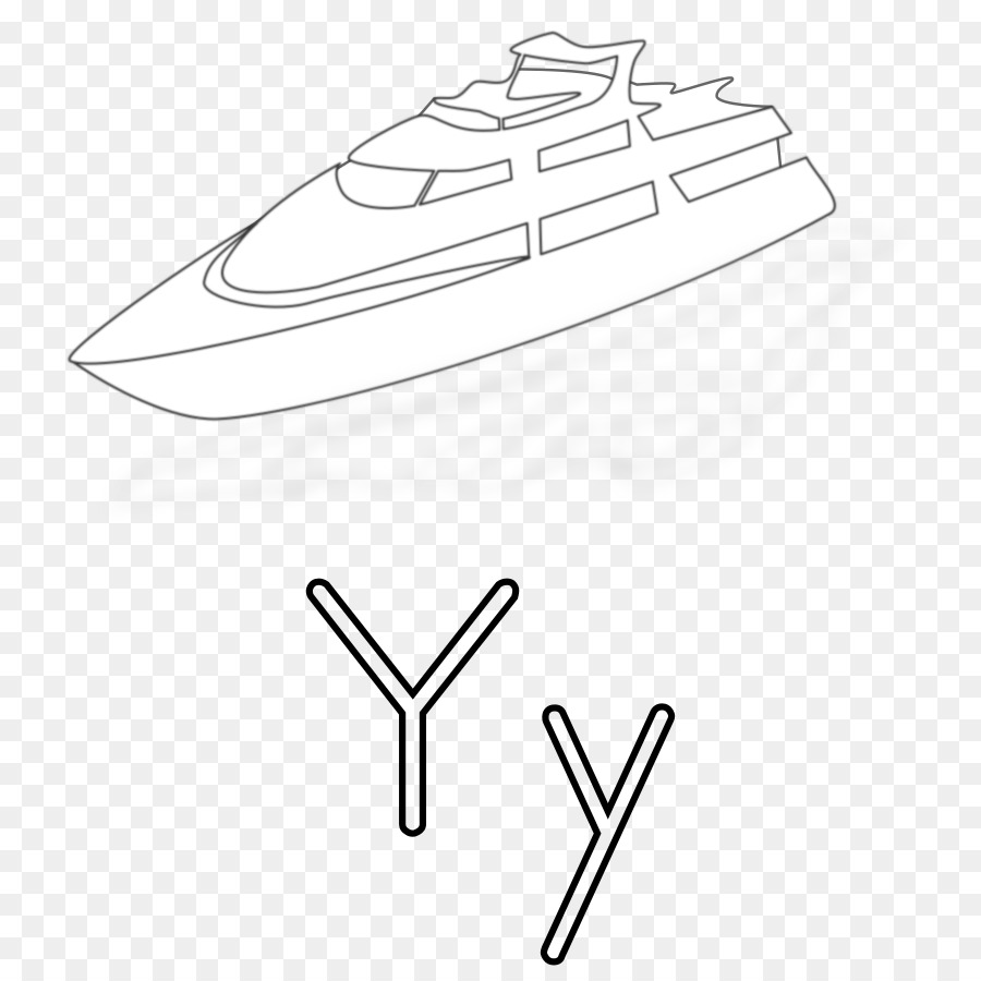 Coloring book Yarn Food coloring Clip art - yacht png download - 800 ...