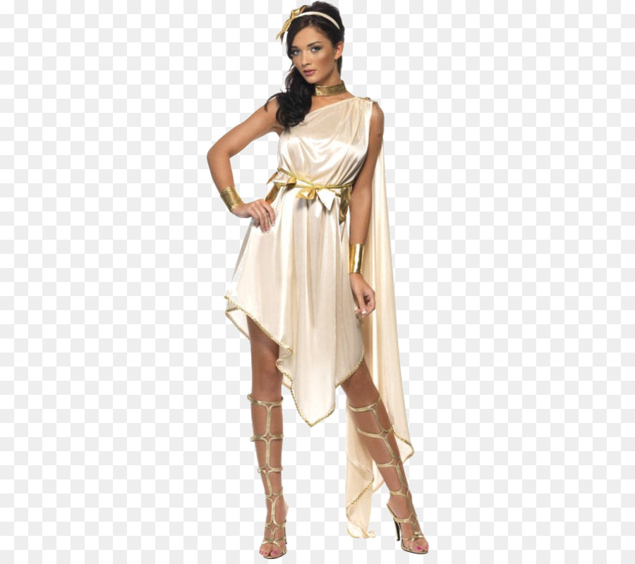 Costume party Toga Goddess Dress - greek goddess png download - 500 ...