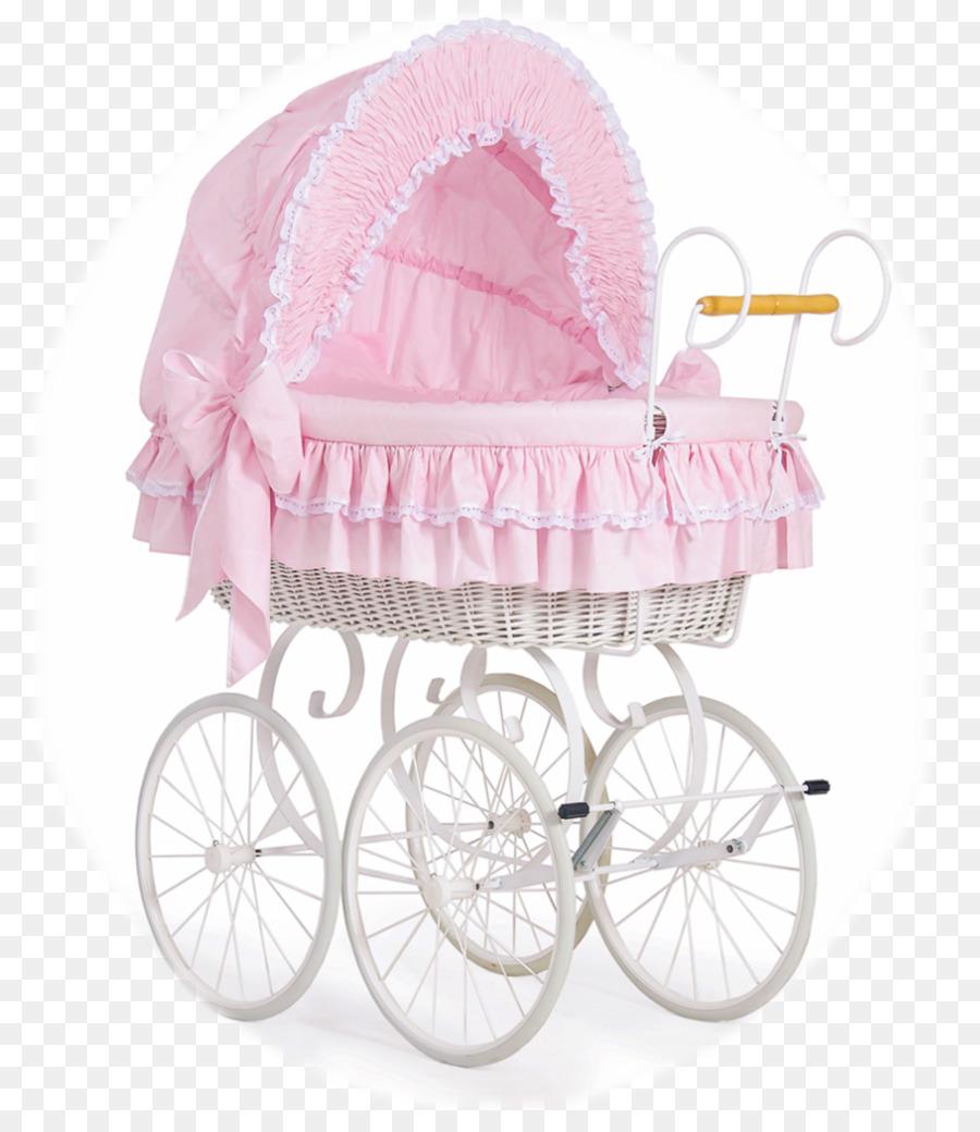 Baby Bettwäsche Stubenwagen Babybett Korb Rose Blumen Rattan Png