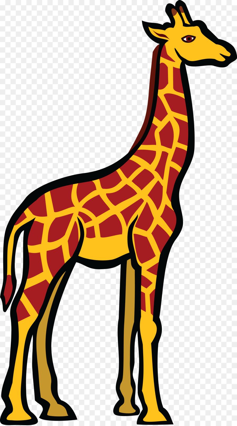 giraffe clip art giraffe vector png download 4000 7188 free rh kisspng com House Clip Art Pumpkin Clip Art