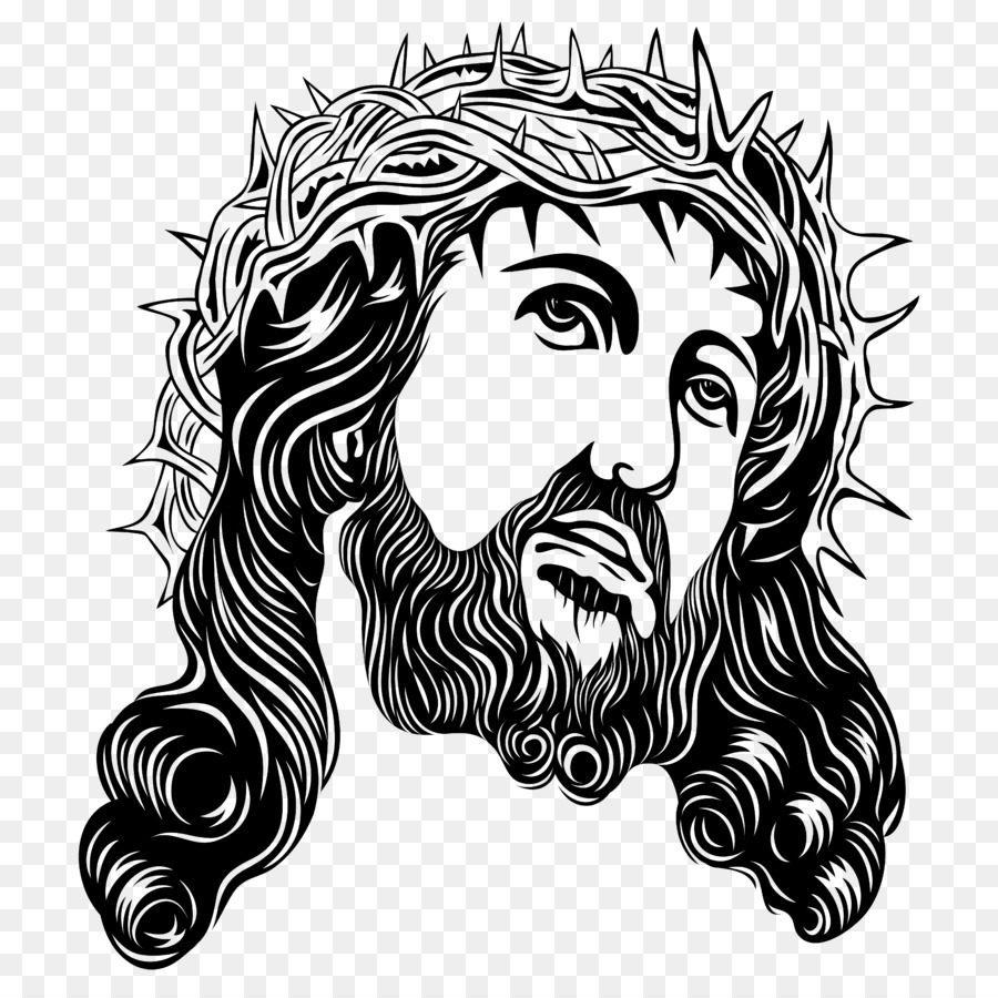 Crown Of Thorns Holy Face Jesus Clip Art