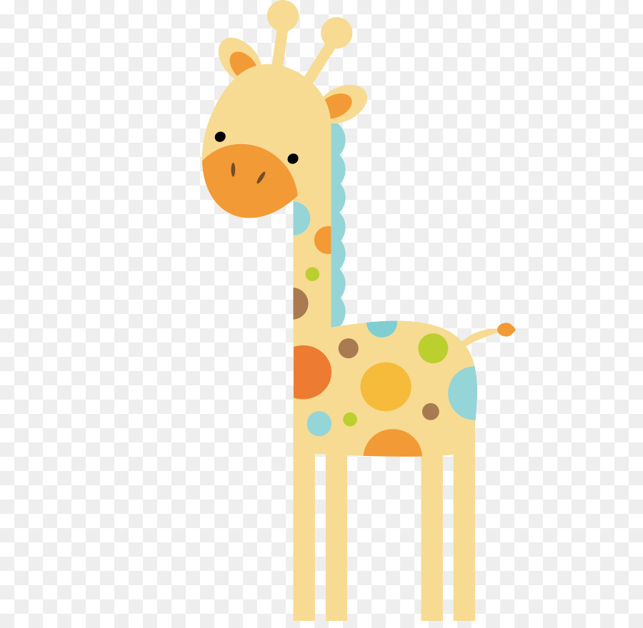 Wall decal Nursery Child Sticker Infant - watercolor giraffe png ...
