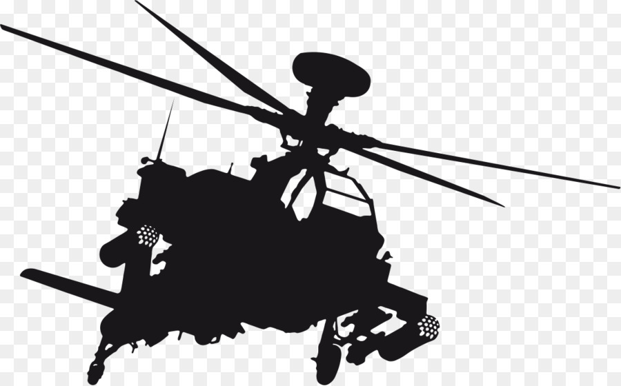 Boeing Ah 64 Apache Helicopter Mi 2 Wall Decal Sticker
