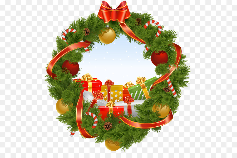 Wreath Christmas Decoration Garland Mushaf Logo Ornament Png