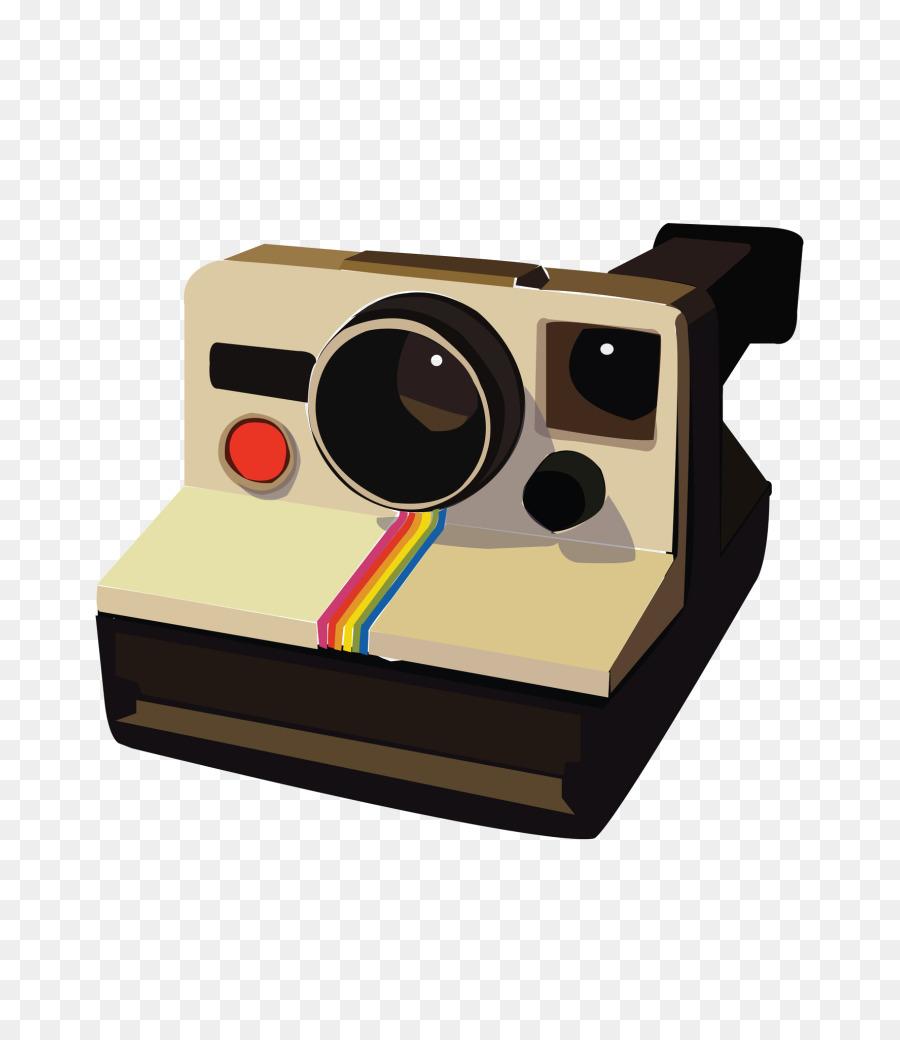 Polaroid SX 70 Instant Camera Corporation Clip Art