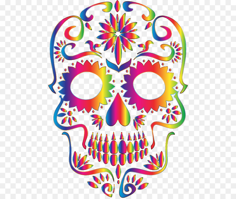 Calavera Mexican Cuisine Day Of The Dead Skull T Shirt