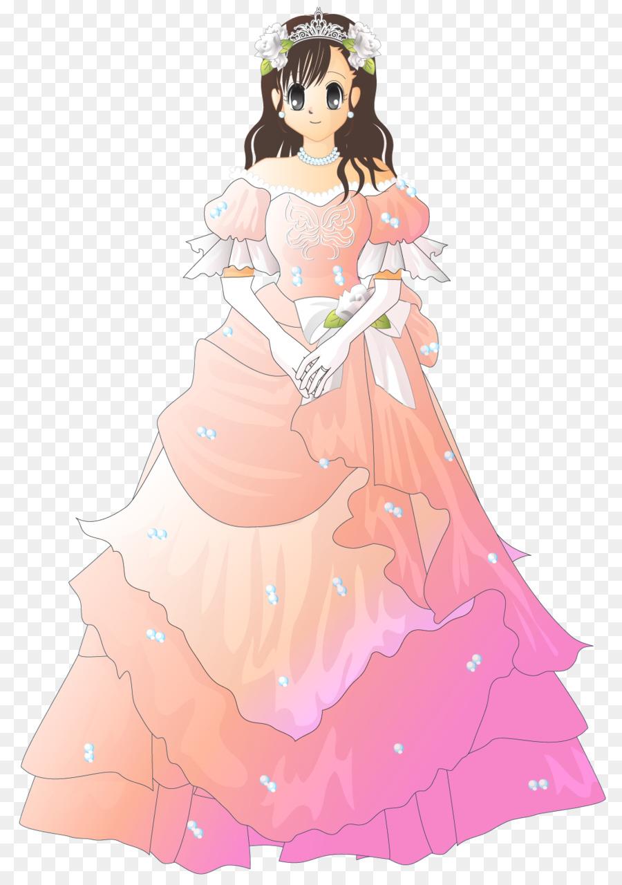 Vestido de novia vestido de Novia de color Rosa - festival de ...