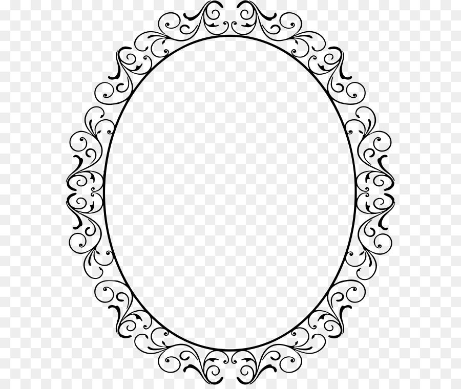 Picture Frames Borders And Frames Oval Clip Art Frame Pattern Png