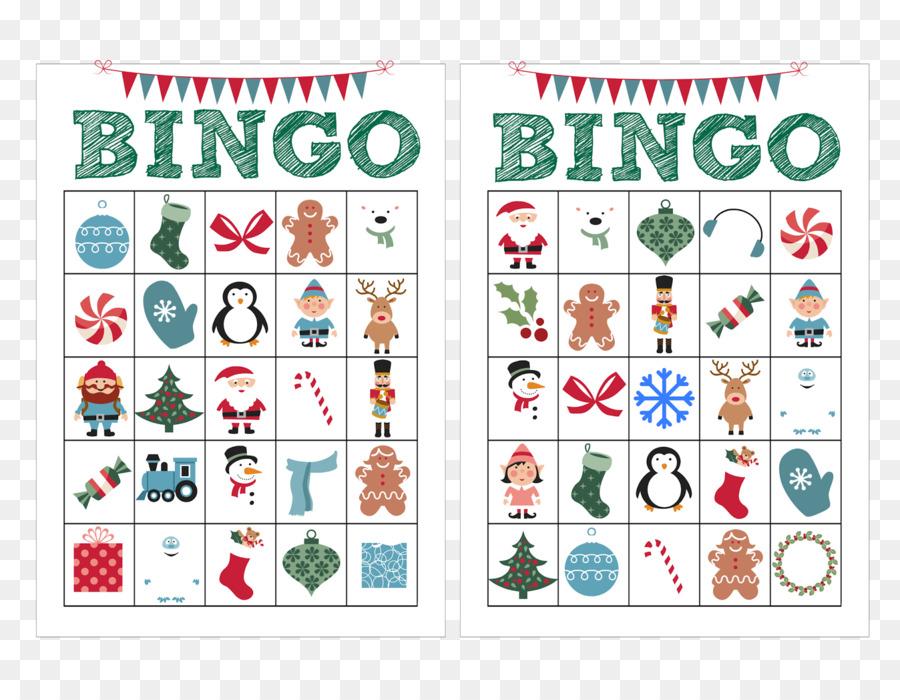 Tarjeta de Bingo de Navidad de Niño Juego - plantilla de tarjeta de ...