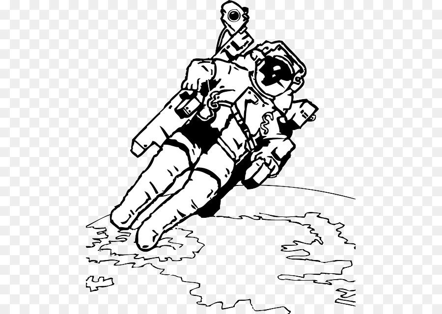 Libro para colorear Astronauta Universo Infantil Clip art - el ...