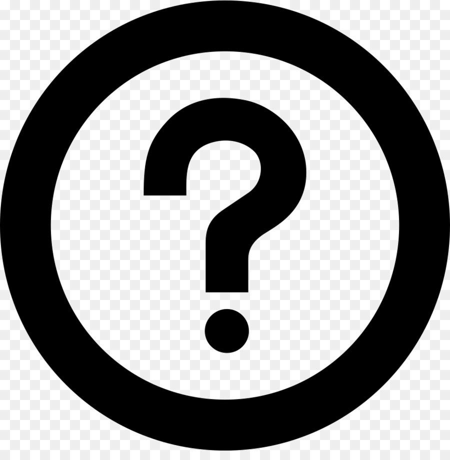 Registered Trademark Symbol Service Mark Symbol Hollow Question