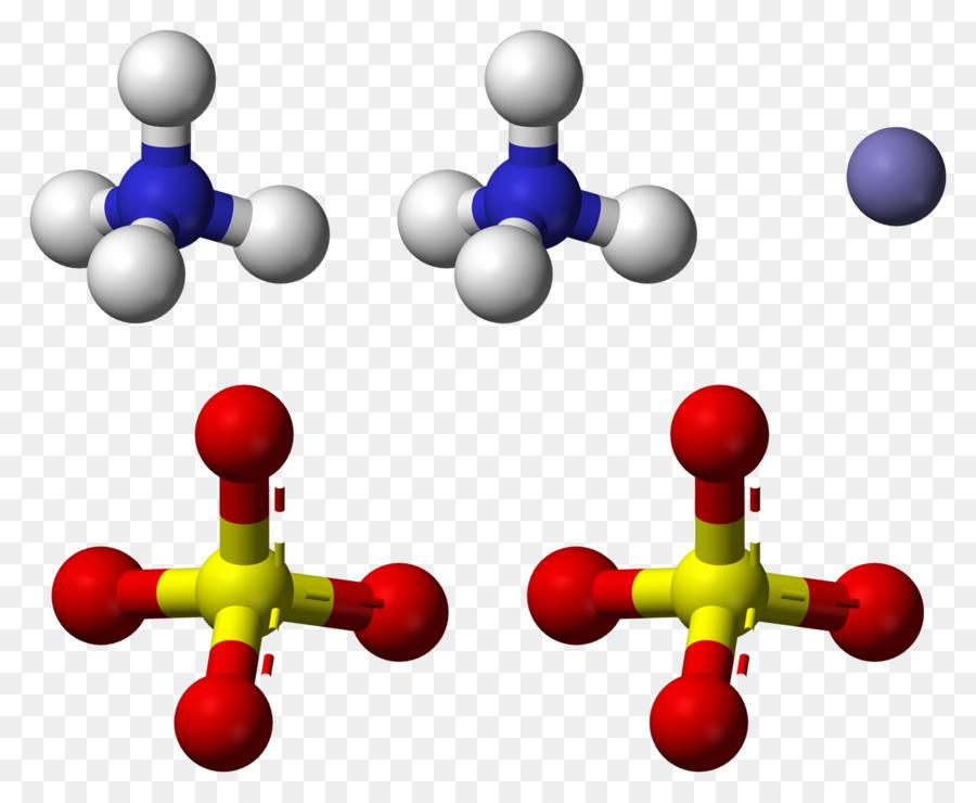 Ammonium Iron Sulfate Molecule Ammonium Sulfate Ammonia Symbol Png