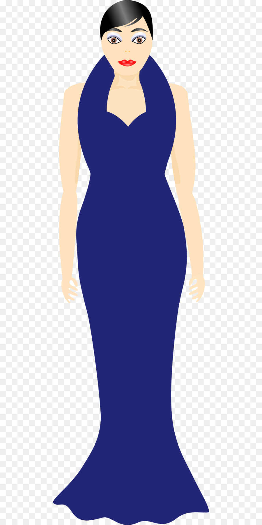 Dress Woman Gown Clothing Clip art - dress png download - 960*1920 ...