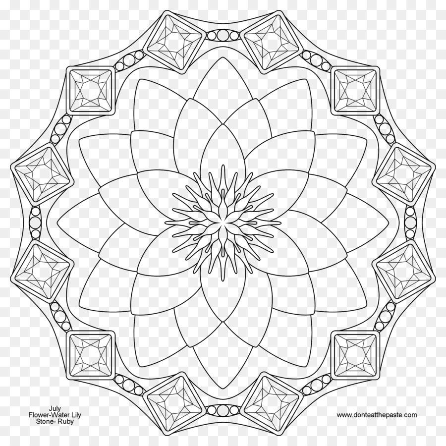 Mandala Da Colorare Disegno Nati Per Adulti Colore Del Chip