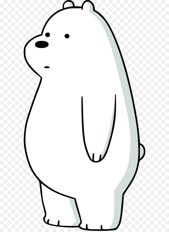 Oso Polar Dibujo de Animación Instagram - dibujos animados de ...