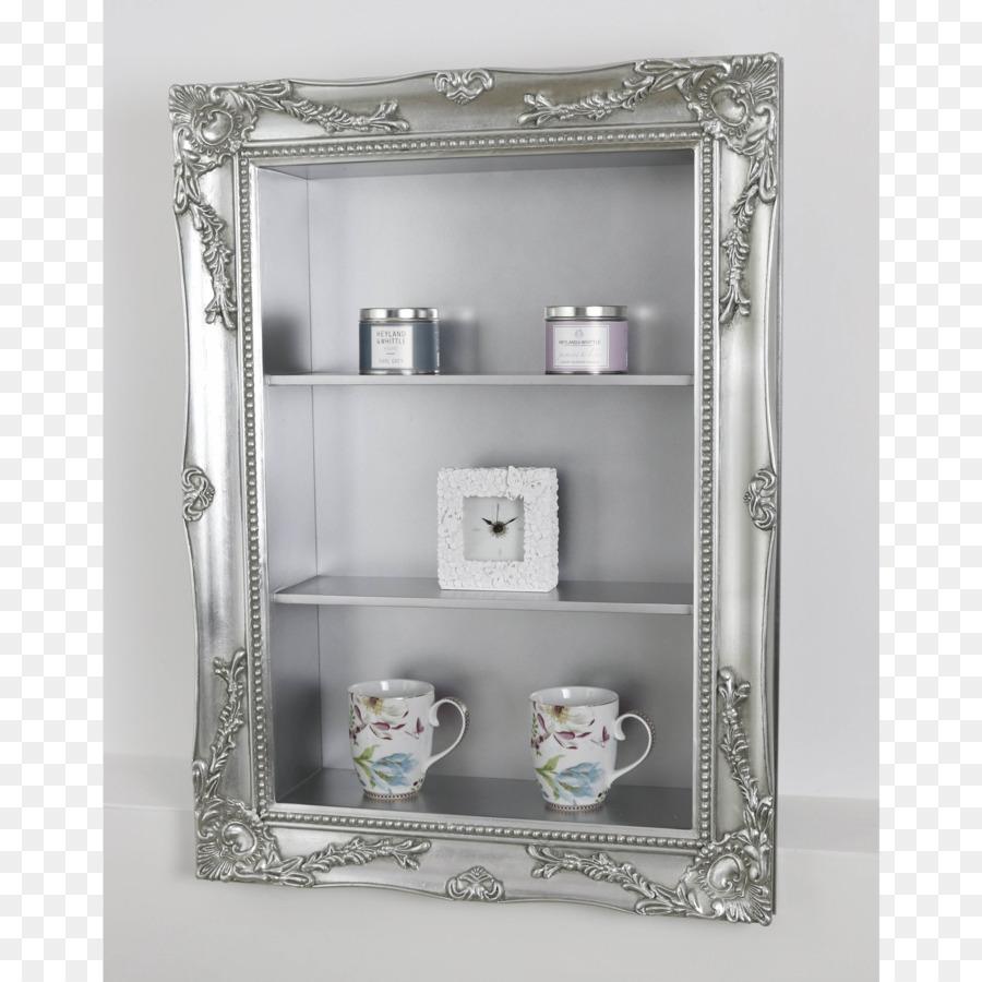 Shelf Picture Frames Mirror Furniture Silver   Shelf Stationery Decor