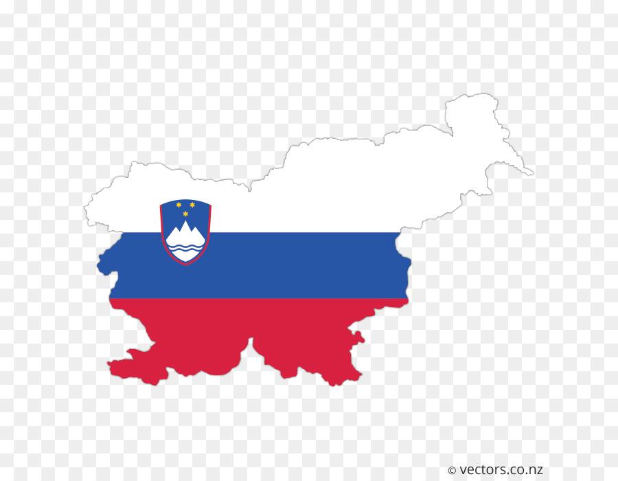 flag of slovenia vector map islamic vector background map
