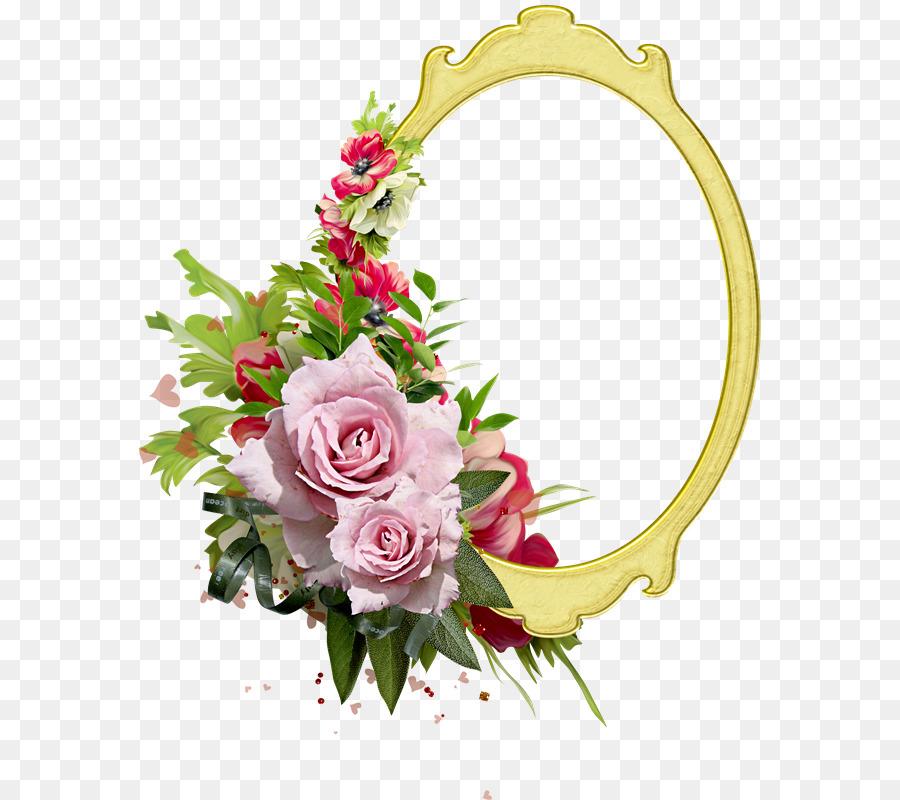 Marcos De Fotos De Flores De Papel Clip Art Magnolia Vector Png
