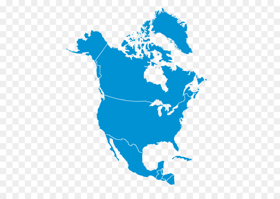 Map Of America And Canada With States.World Map Png Download 2040 1430 Free Transparent United States