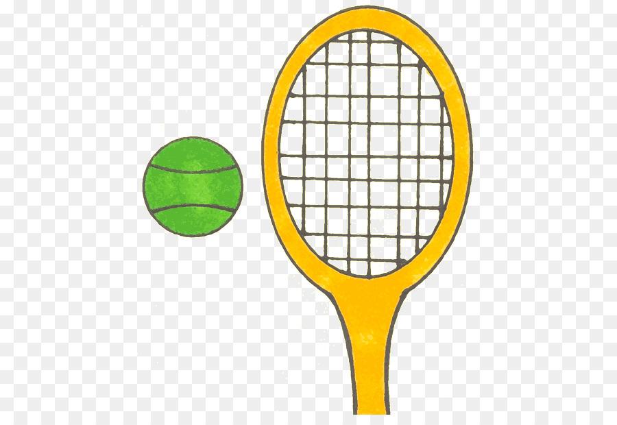 Tennis Balls Racket Clip Art Cartoon Badminton Png Download 500