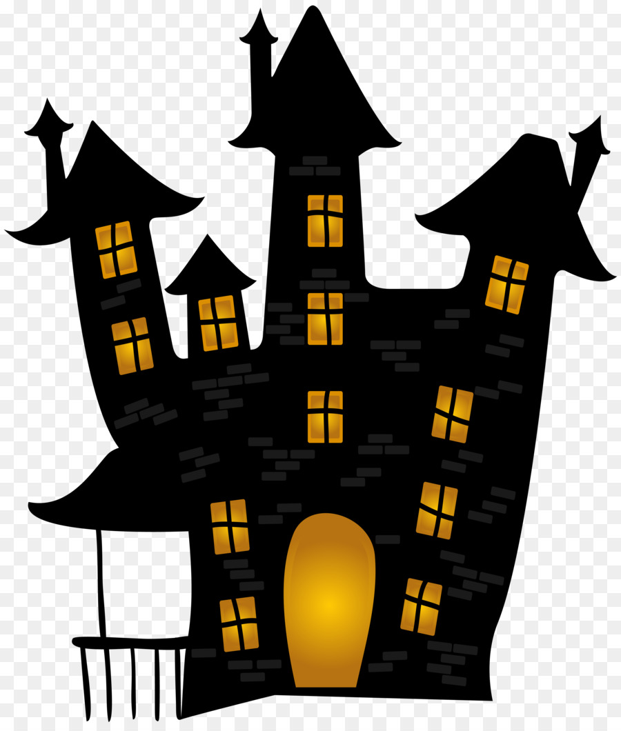 Halloween Home Decor Ideas: Halloween Haunted House Clip Art