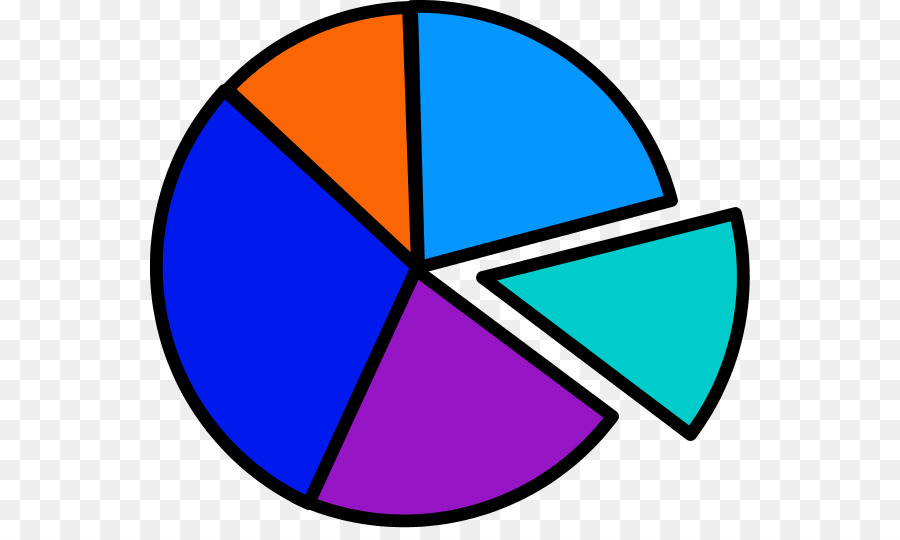 Pie Chart Statistics Clip Art Charts Vector Png Download 600528
