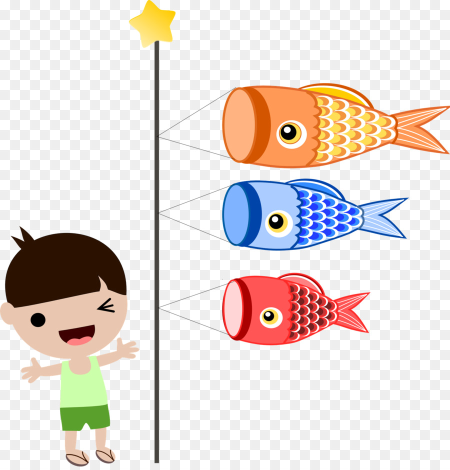 Childrens day japan koinobori clip art japan culture