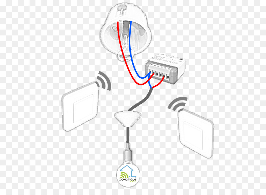 Wireless Electrical Switches Multiway switching EnOcean GmbH Lamp ...