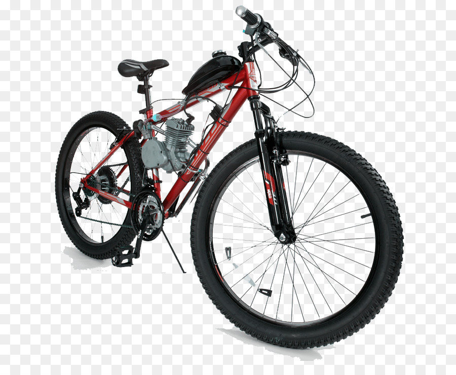 Motorized bicycle Electric bicycle Mountain bike Motorcycle - red motorcycle png download - 716*727 - Free Transparent Bicycle png Download.