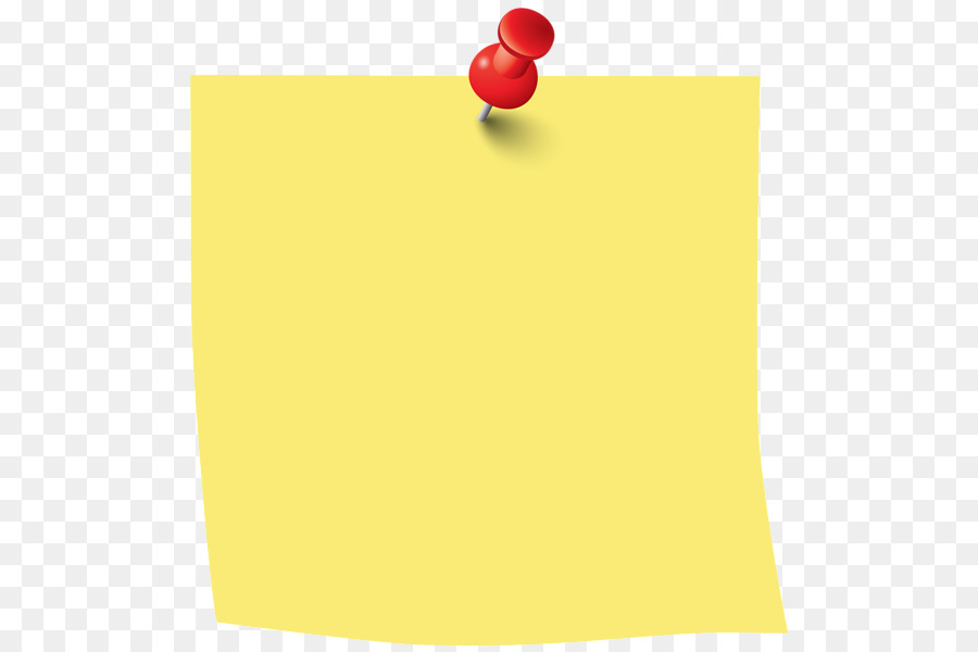 postit note paper clip art sticky note png download
