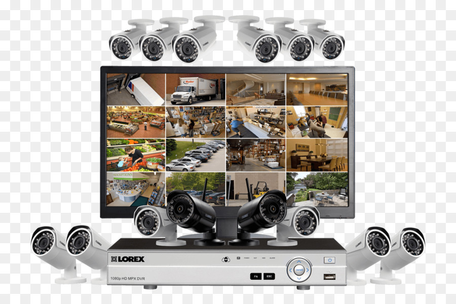 wireless security camera closed circuit television security alarms