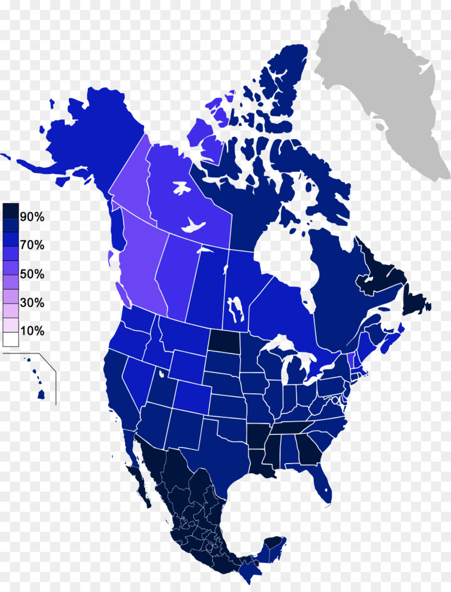 United States Canada Vector Map - united states png download - 926 ...