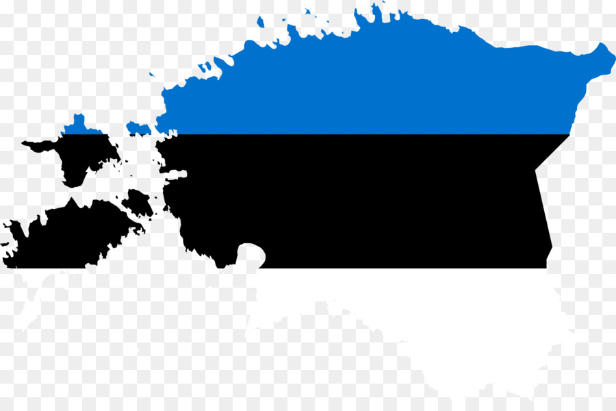 Flag Of Estonia World Map Map Png Download 2350 1536 Free