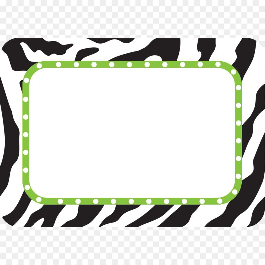 Name Tag Label Sticker Animal Print Plates Tags