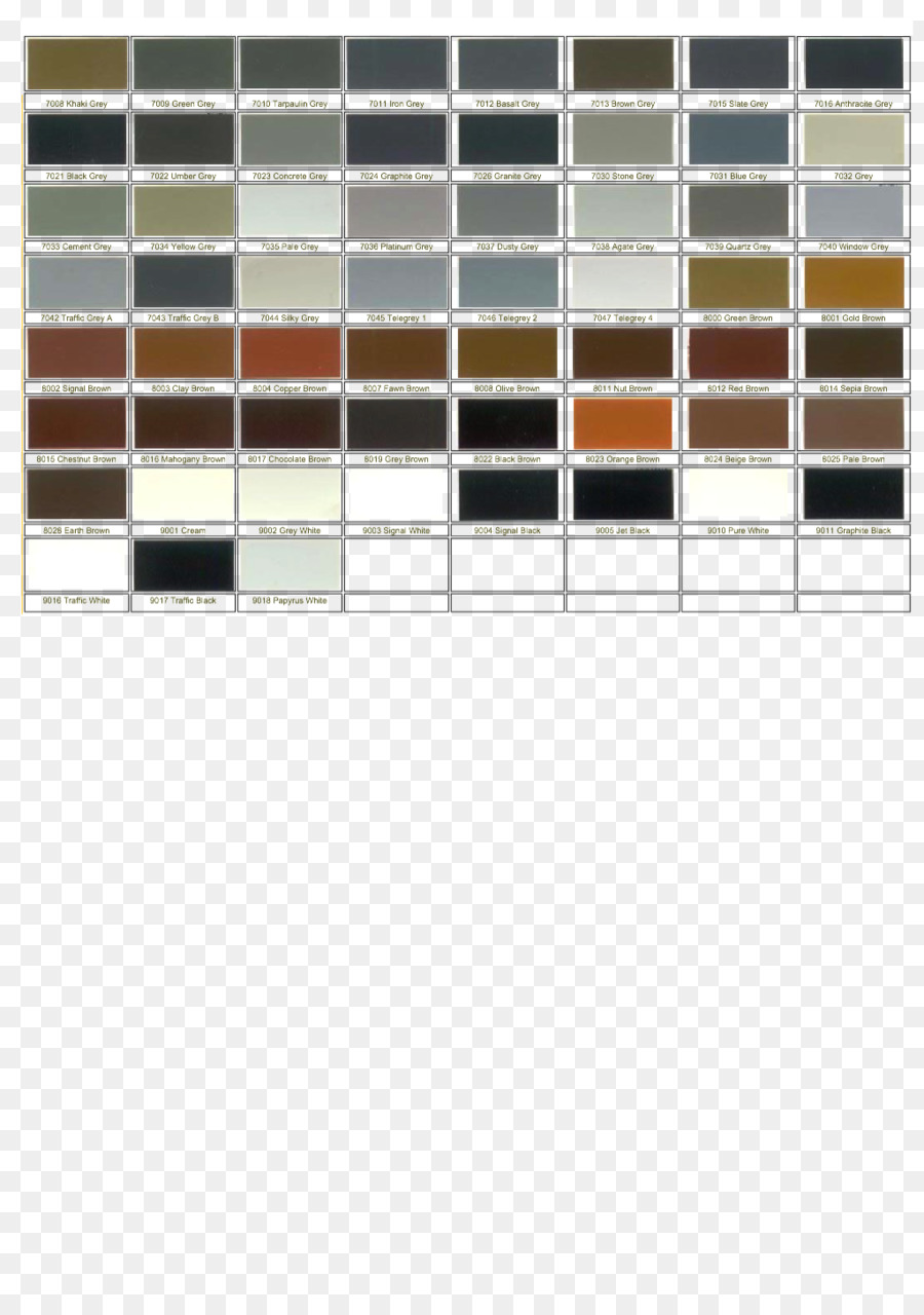 Ral Colour Standard Color Chart Electronic Color Code Pantone
