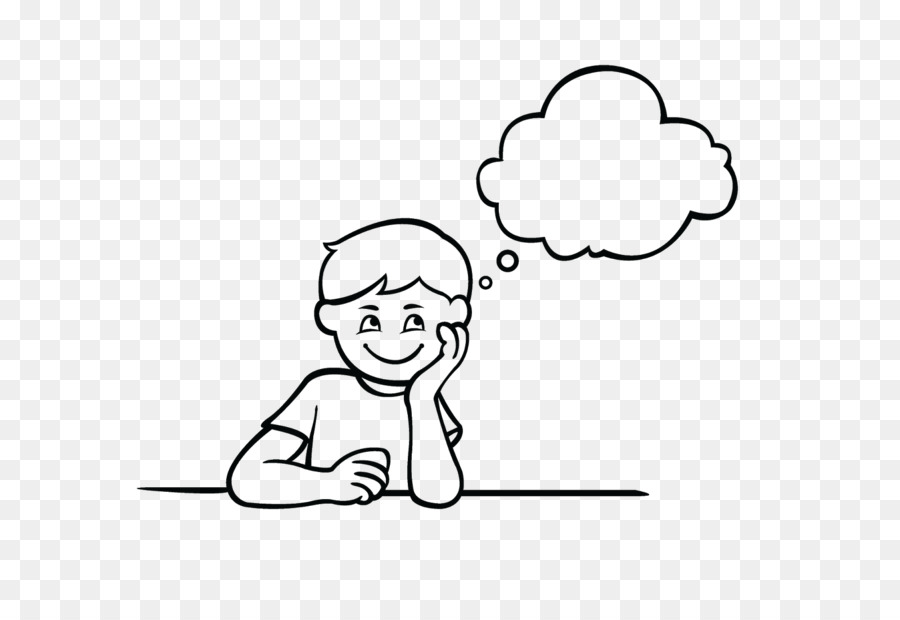 boy thinking clipart black and white all about clipart