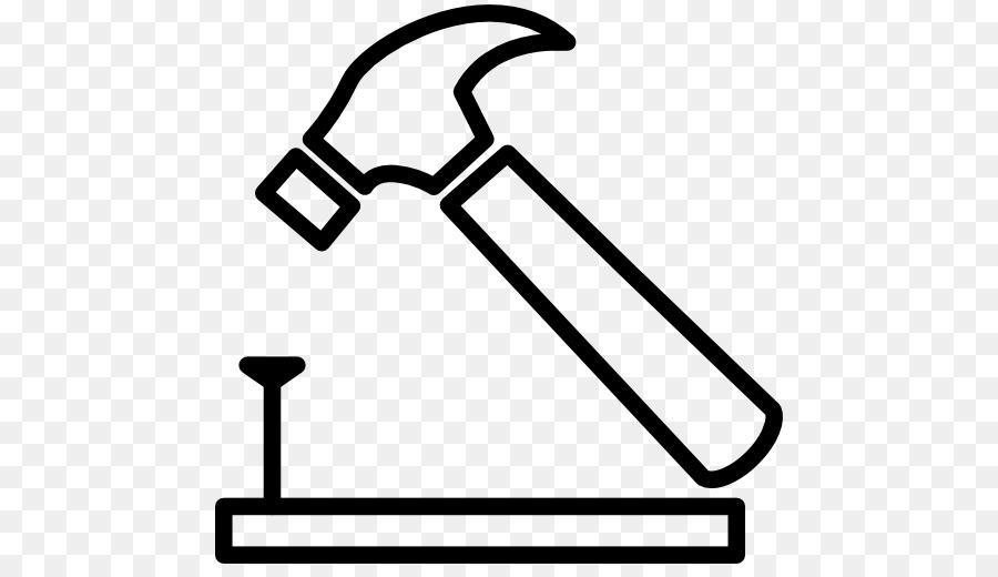 Hammer Nail Clip Art Nail Vector Png Download 512512 Free