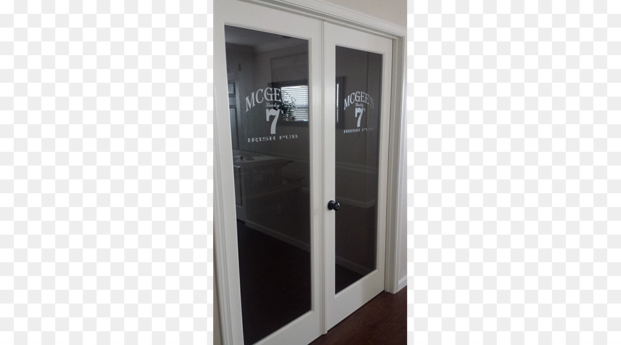 Window Glass Etching Door Frosted Glass Stickers Door Together Png