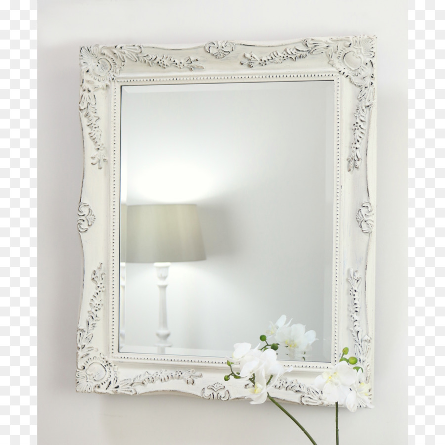 Picture Frames Mirror Shabby chic White Color - classical decorative ...