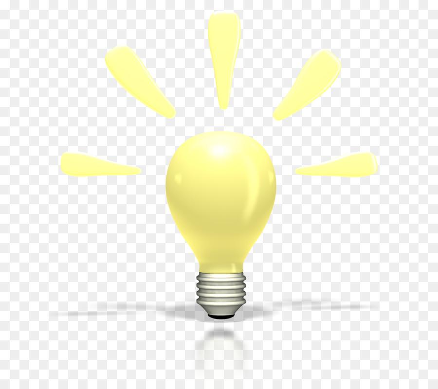 Incandescent Light Bulb Animation Lamp Clip Art