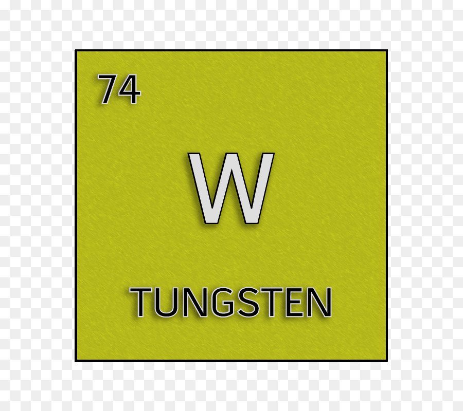Green Yellow Tungsten Cell Symbol Tungsten Png Download 800800