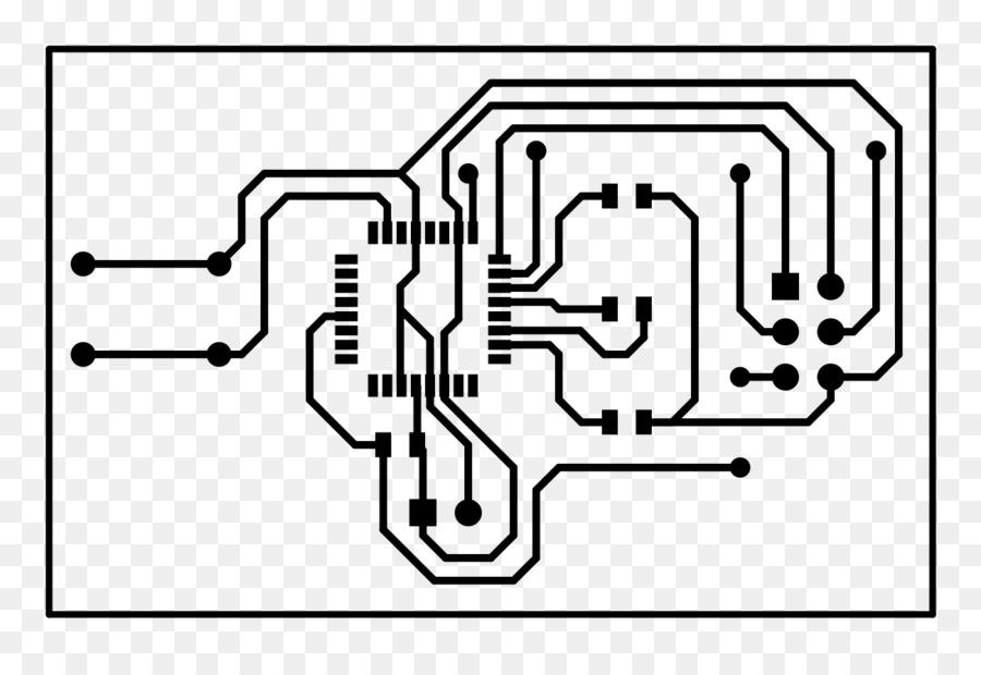 Drawing Line art Clip art - computer circuit board png download ...