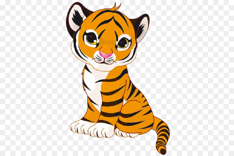 royalty free clip art cartoon tiger png download 600 600 free rh kisspng com Bengal Tiger Silhouette Bengal Tiger Claws